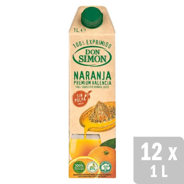 12 bricks de 1L de zumo de naranja Don Simón por 6,21€ (Temporalmente sin stock)