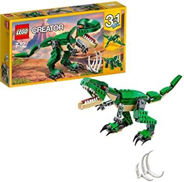LEGO Creator - Grandes Dinosaurios, juguete 3 en 1