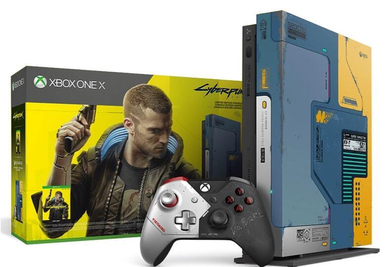 Xbox One X edición limitada Cyberpunk