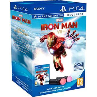 Marvel's Iron Man PS4 VR + 2 mandos Playstation Move