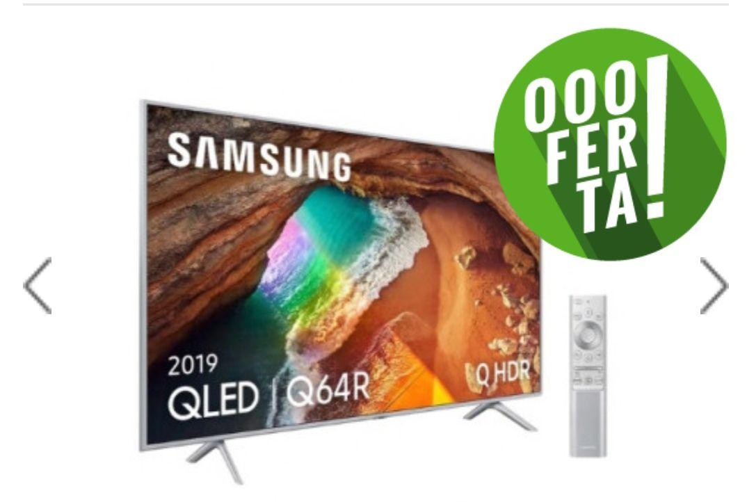 Qled Samsung QE65Q64 Smart TV 4K
