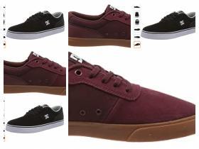 DC Shoes Switch, Zapatillas de Skateboard para Hombre talla 39.