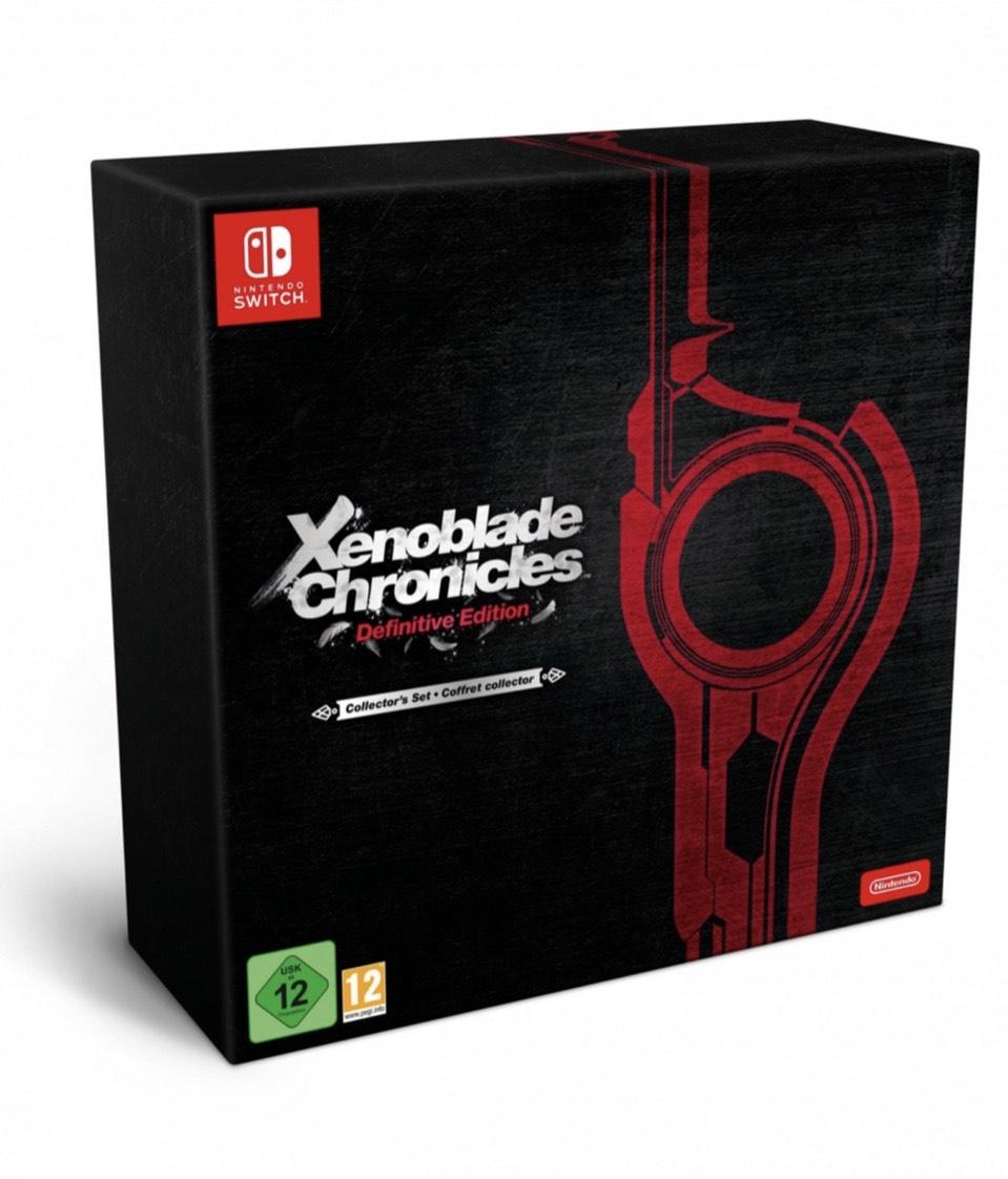 Xenoblade Chronicles Definitive Edition Edición Coleccionista para Nintendo Switch