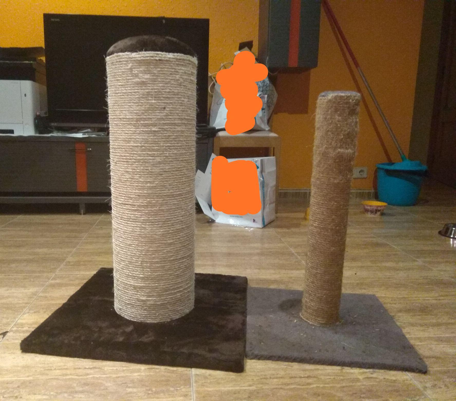 Poste Rascador Gatos diámetro 21cm