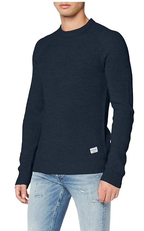 Jack & Jones - Suéter para Hombre talla S color Navy Blazer
