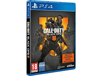 PS4 Call of Duty: Black Ops 4 + Contenido Digital Exclusivo (Solo Queda 1)