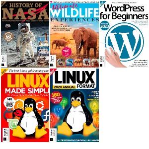 Gratis :: 5 revistas (Linux, Nasa, Wordpress, WildLife Experiences, English)