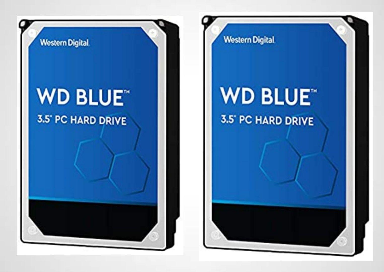 2 discos de 2TB WD Blue por 103,5€
