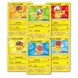 X3 Cartas PROMO Pikachu Pokémon (Compras TCG superiores a 19,99€)