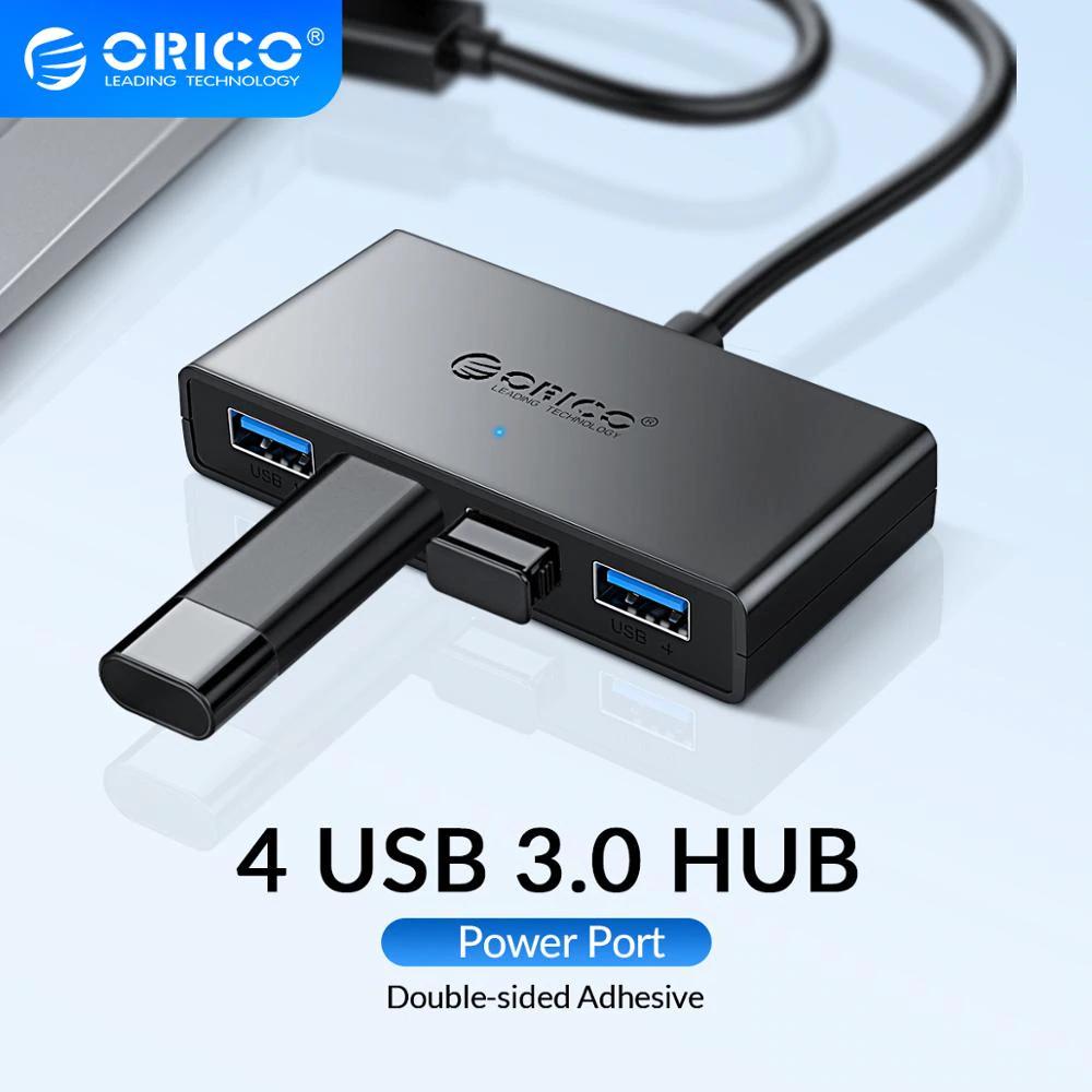 Adaptador HUB Orico para 4 puertos USB 3.0 (Mas barato en la descripción)