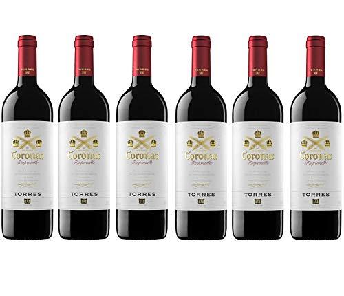 Coronas Crianza, Vino Tinto - 6 botellas de 75 cl