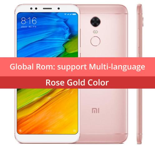 Xiaomi Redmi 5 Plus 4GB RAM / 64GB ROM Rosa + Funda