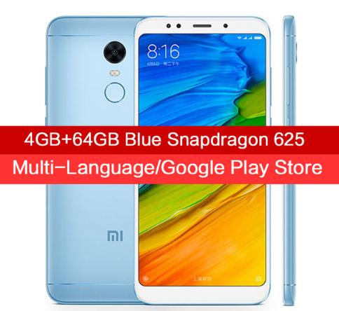 Xiaomi Redmi 5 Plus 4GB/64GB Versión Global Azul + Funda