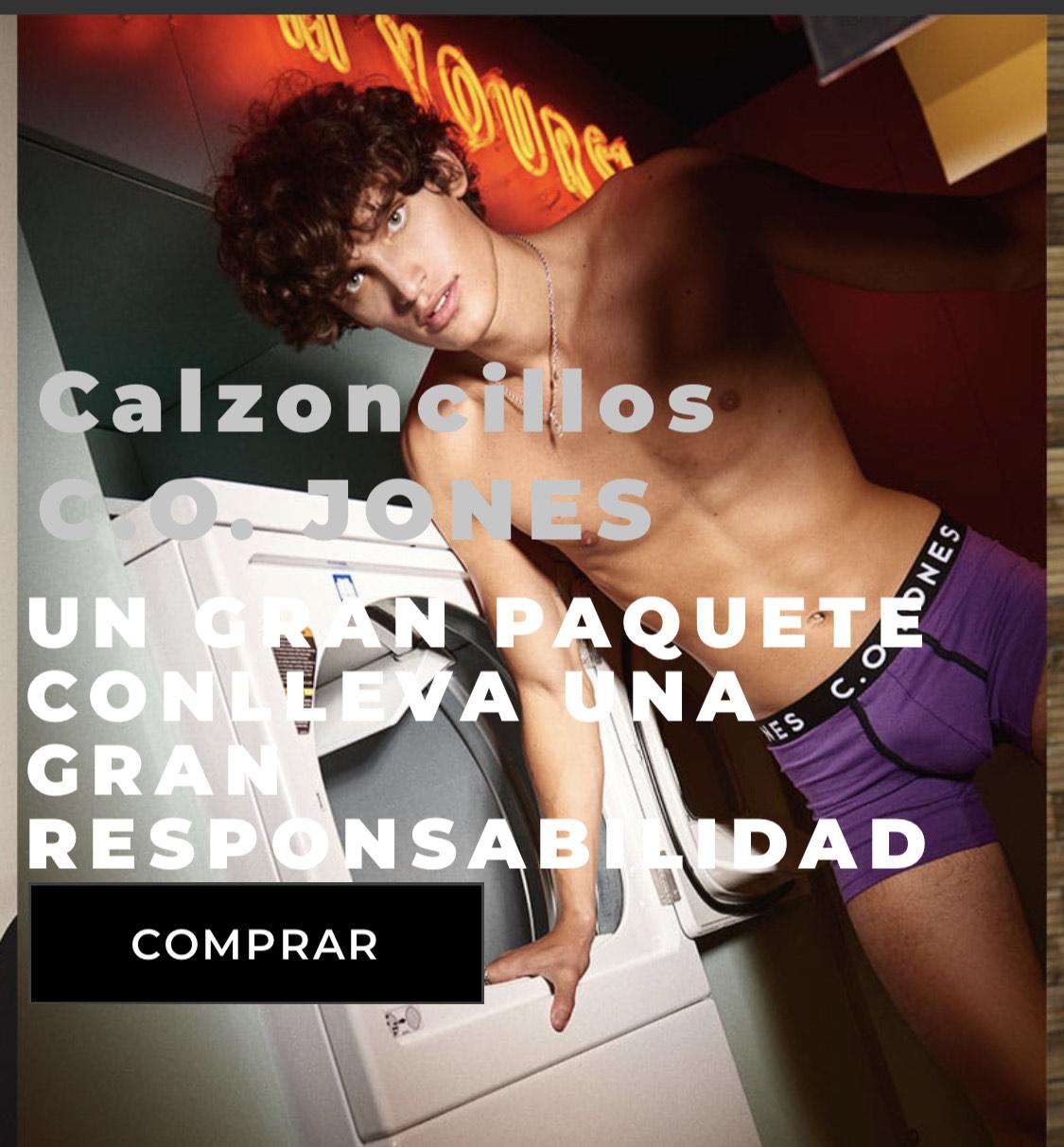 Calzoncillos Bóxer C.O. JONES
