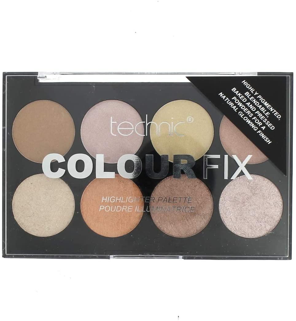 Technic Color Fix Blush Palette - 8 colores (TSS)