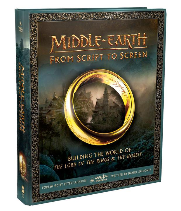 Middle Earth From Script To Screen (Inglés) - Libro con mas de 500 paginas a todo color