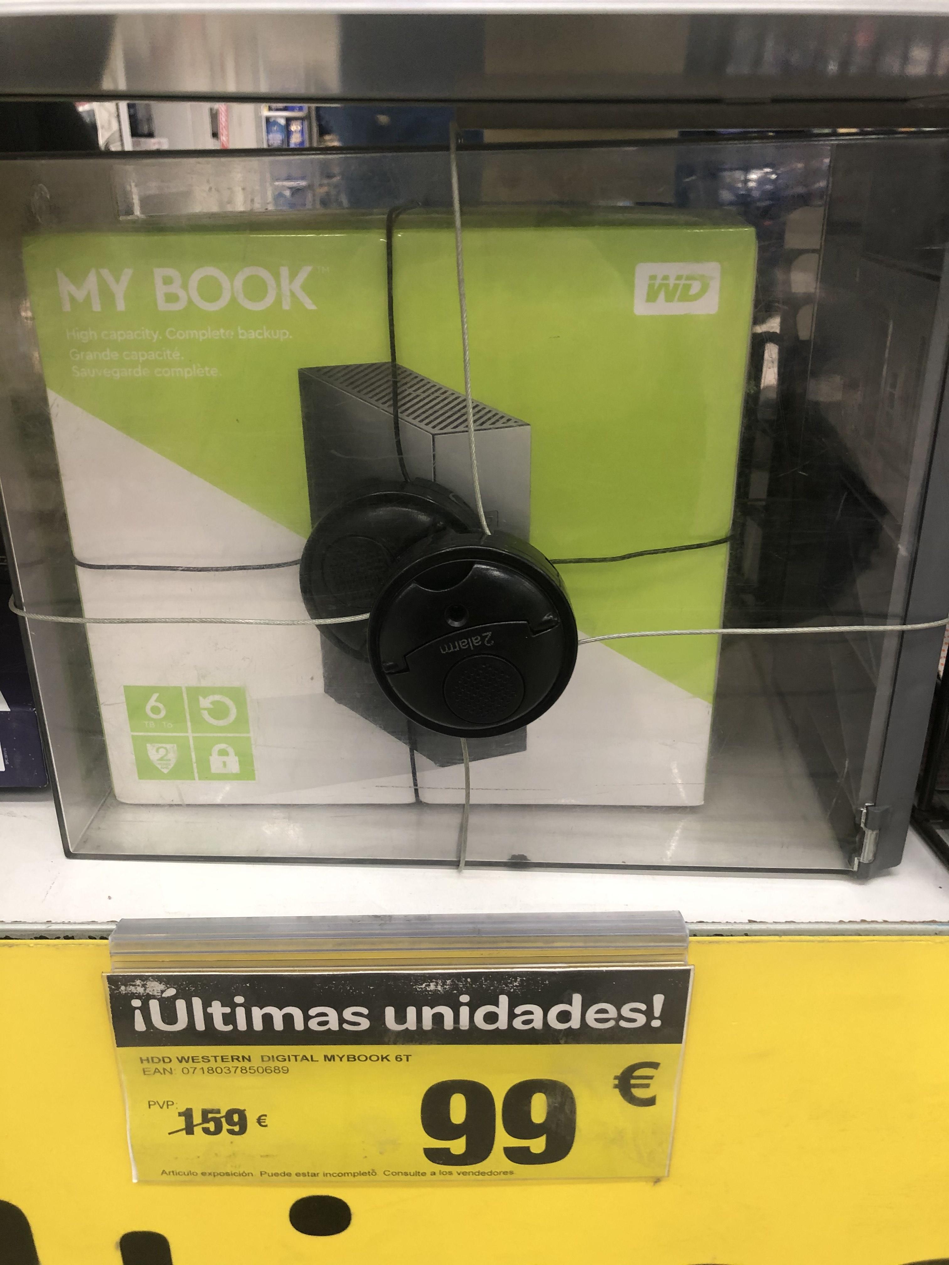 Disco duro 6 TB