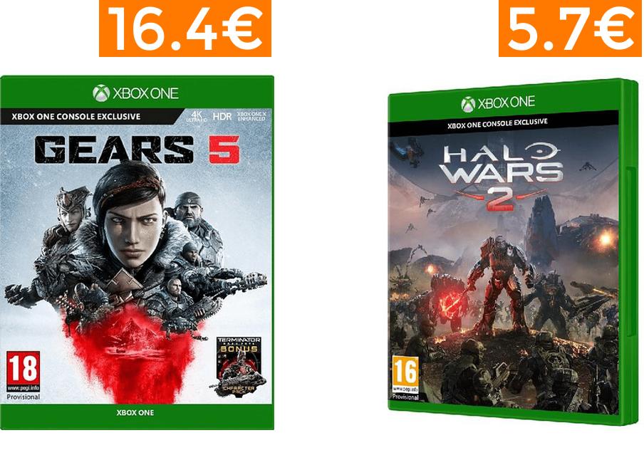 Bajadas en juegos de Xbox One desde 6.9€