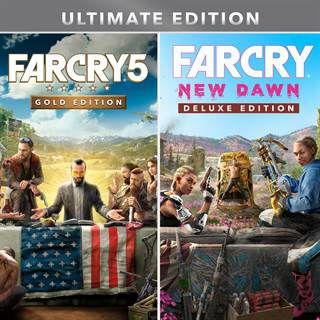 Far Cry 5 y Far Cry New Dawn Ultimate Edición Xbox One
