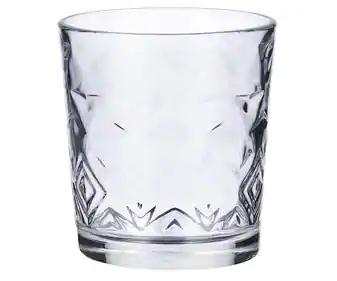 Bandeja de 10 vasos de cristal a 2€ en Alcampo Parquesur (Leganés- Madrid)