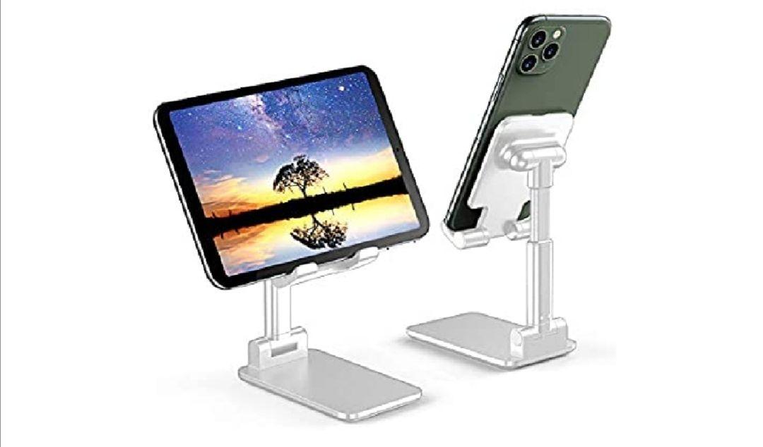 Soporte plegable para móviles y tablets