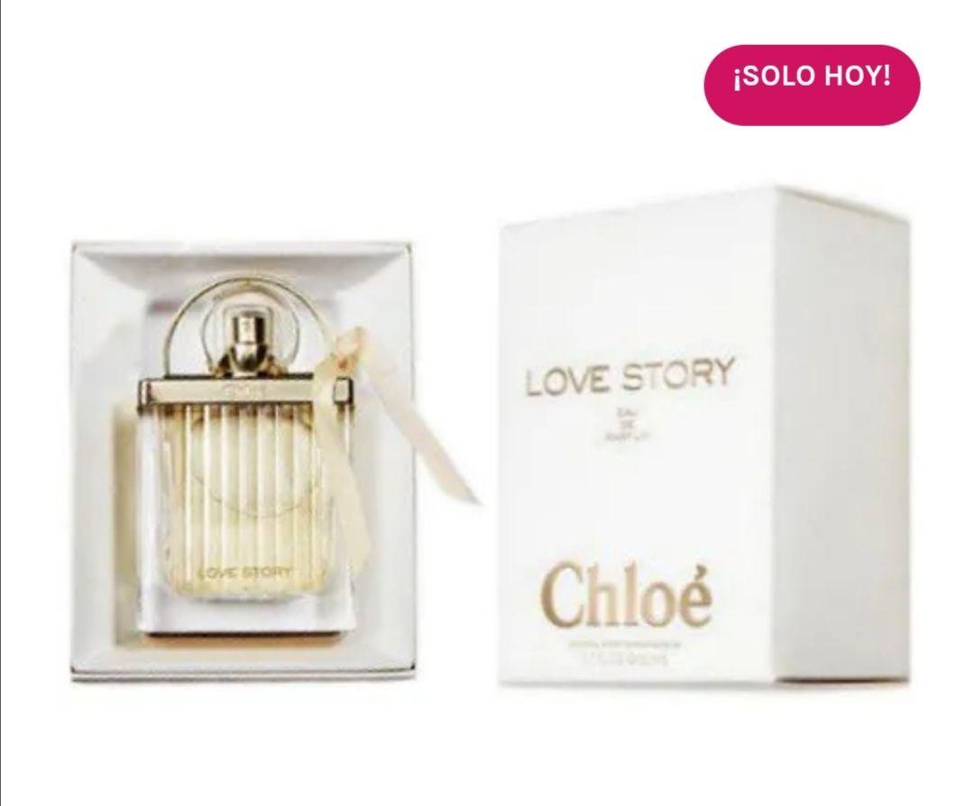CHLOE Love Story Eau de Parfum para Mujer 75ml