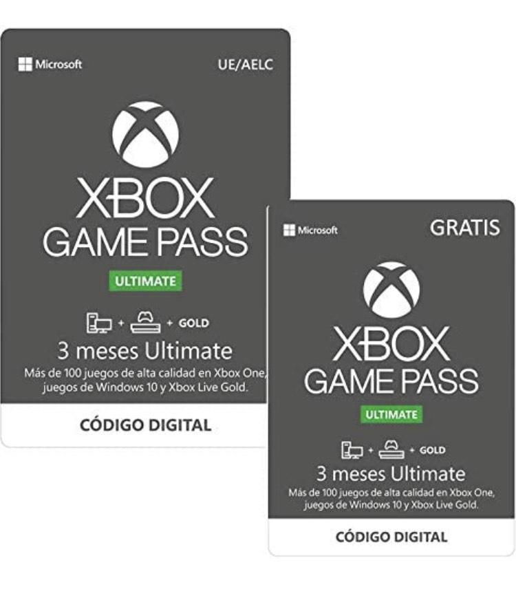 6 meses Game Pass Ultimate por solo 38,98€