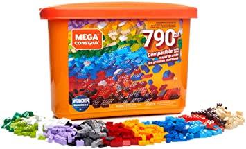 Juguete Mega Caja de 790 piezas y bloques de construcción para niños