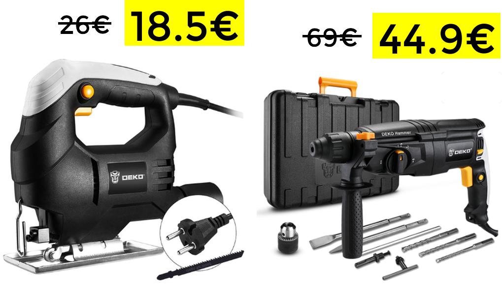 Buen precio en herramientas Deko desde España
