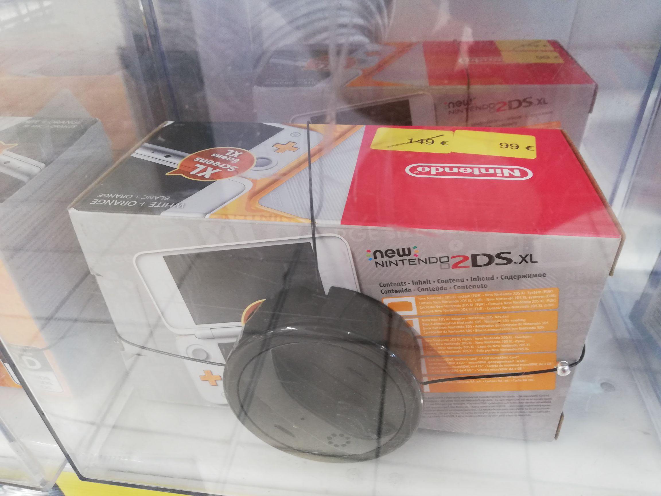 Nintendo 2ds XL Carrefour tienda fisica