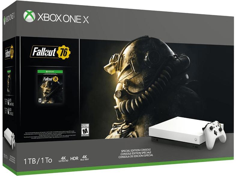 Xbox One X, 1 TB, Blanca + Fallout 76