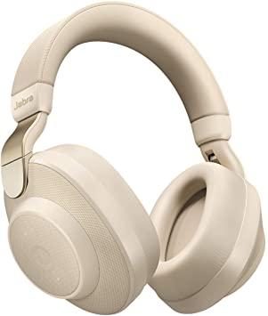 Jabra Elite 85h - Auriculares Bluetooth 5.0 con Cancelación de Ruido Activa, Oro y Beige, con Alexa integrada