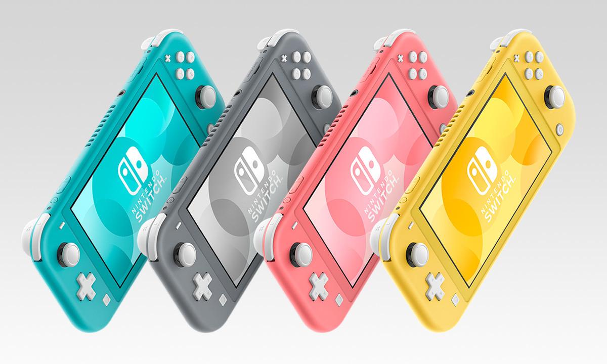 Todos los Modelos De Nintendo Switch Lite a 199€
