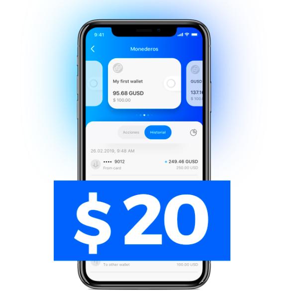 $20 GRATIS al recargar $100 en Aximetria