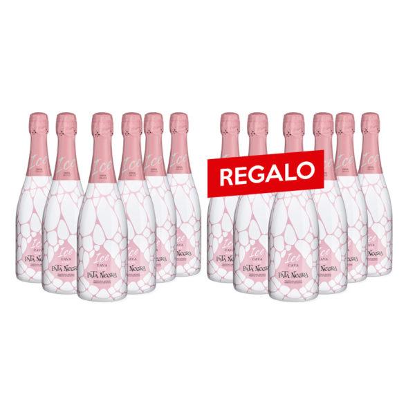 Pata Negra D.O. Cava Ice Rosado 12 botellas x 750 ml