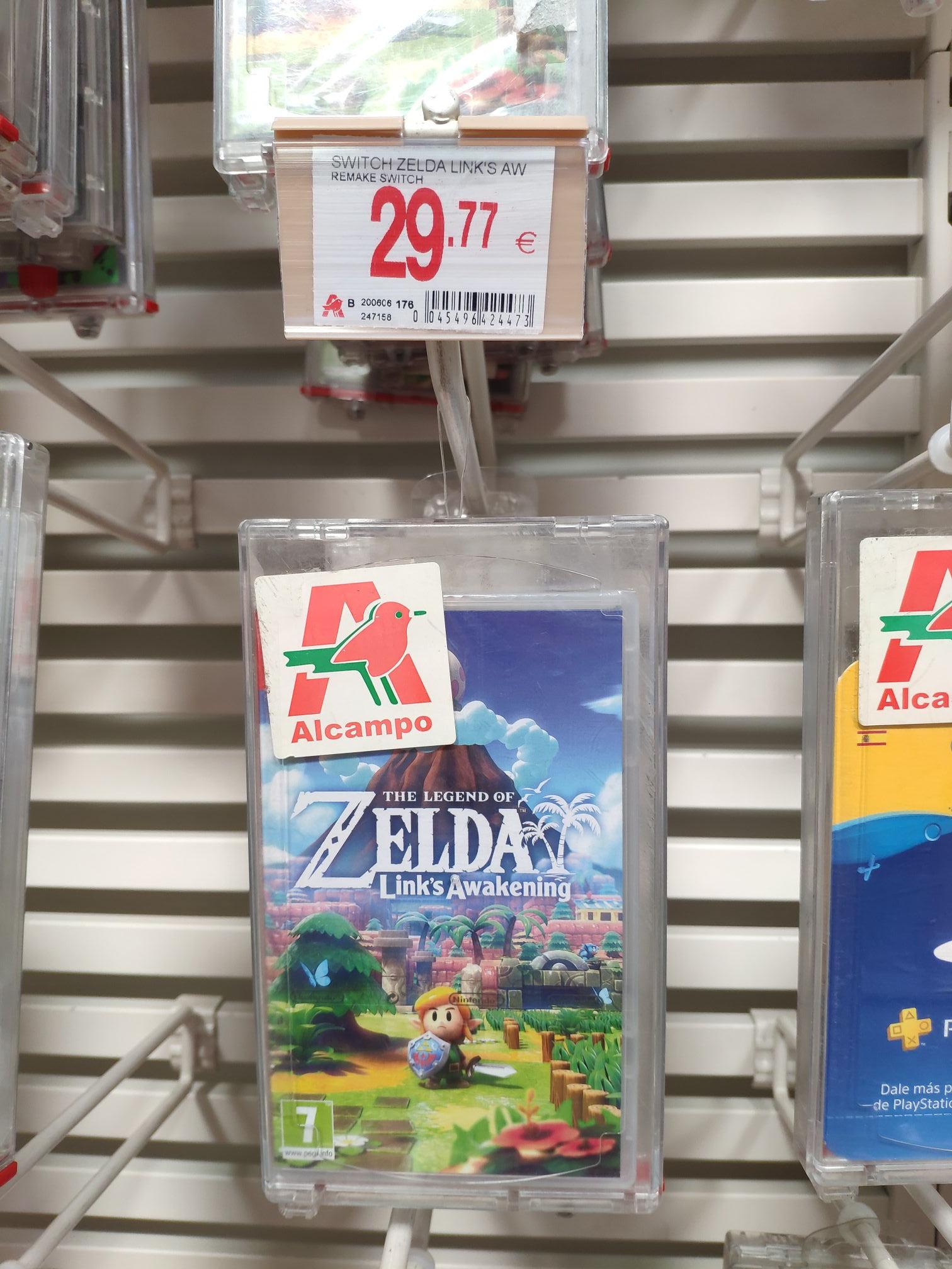 Zelda para switch