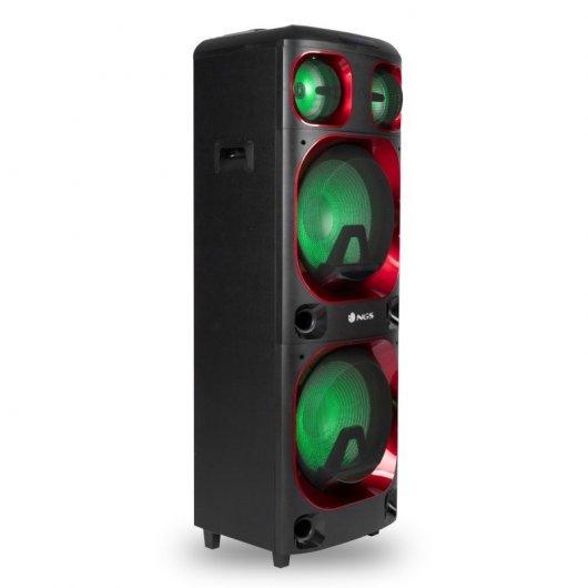 NGS Wild Ska 3 Altavoz Bluetooth 1200W (120W RMS)