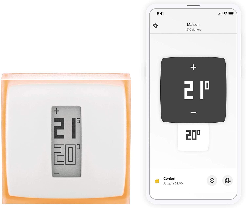 Netatmo Termostato Wifi Inteligente para caldera individual