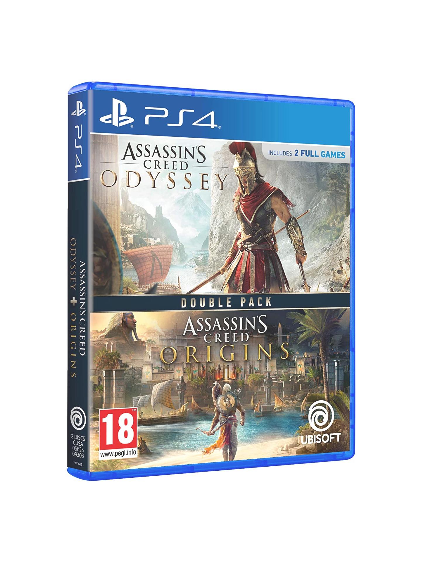 Assassins Creed Origins + Odyssey (Físico)