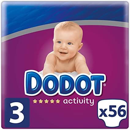 Dodot Activity Talla 3 - 56 Pañales