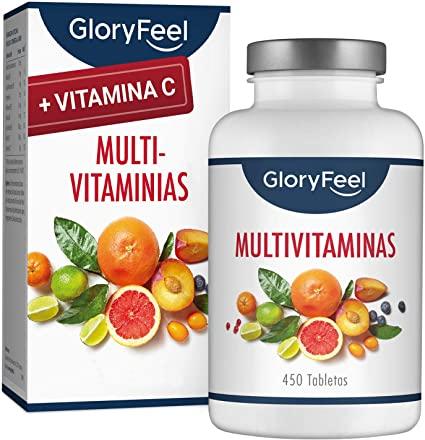 Multivitaminas y Minerales 450 comprimidos GloryFeel