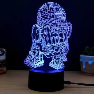 Lámpara imagen 3D Star Wars