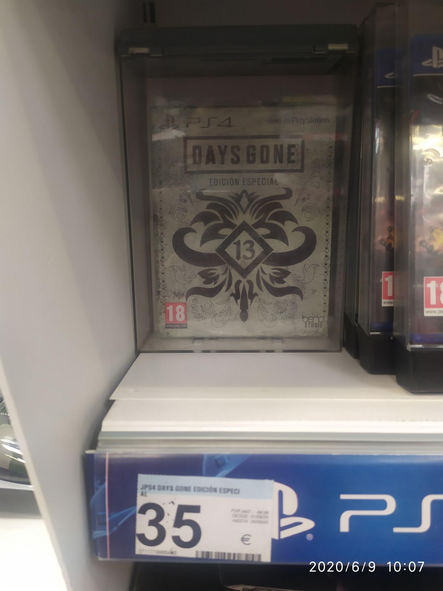 Days gone edición especial steelbook PS4
