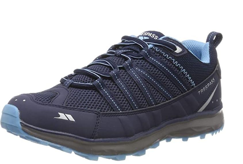 TALLA 41 - Trespass Triathlon, Zapatillas de Senderismo para Mujer