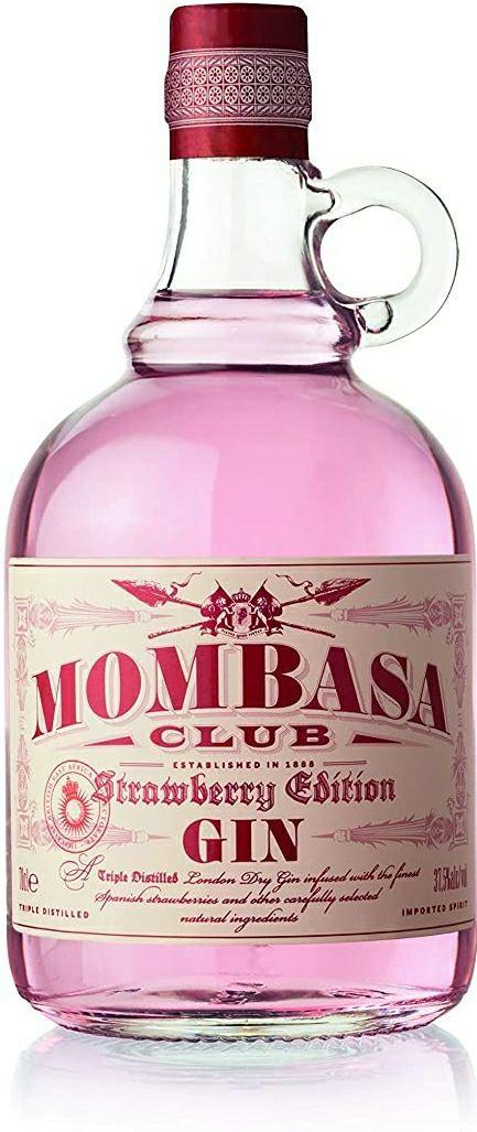 Mombasa Strawberry GIN 70CL.