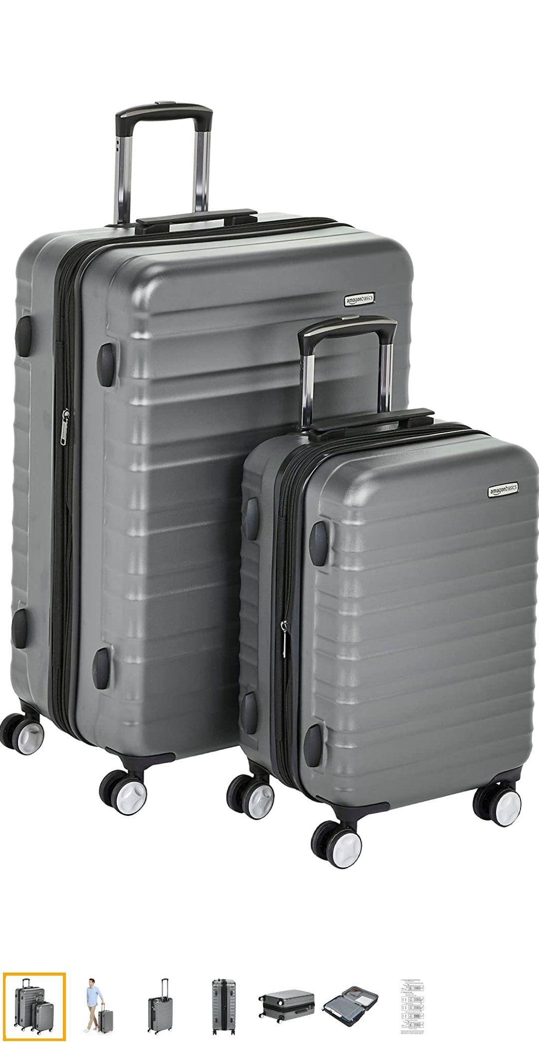 Set de 2 maletas rígidas baratas