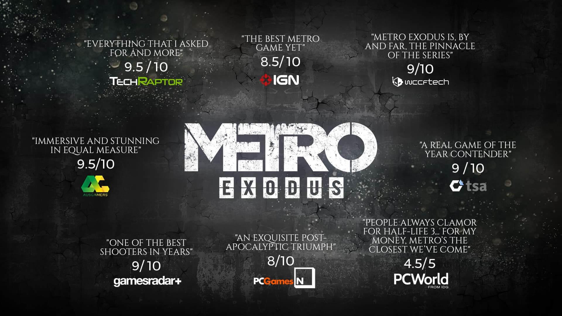 Metro Exodus Gold PC : Edición estándar + pase de expansión [Epic Games]