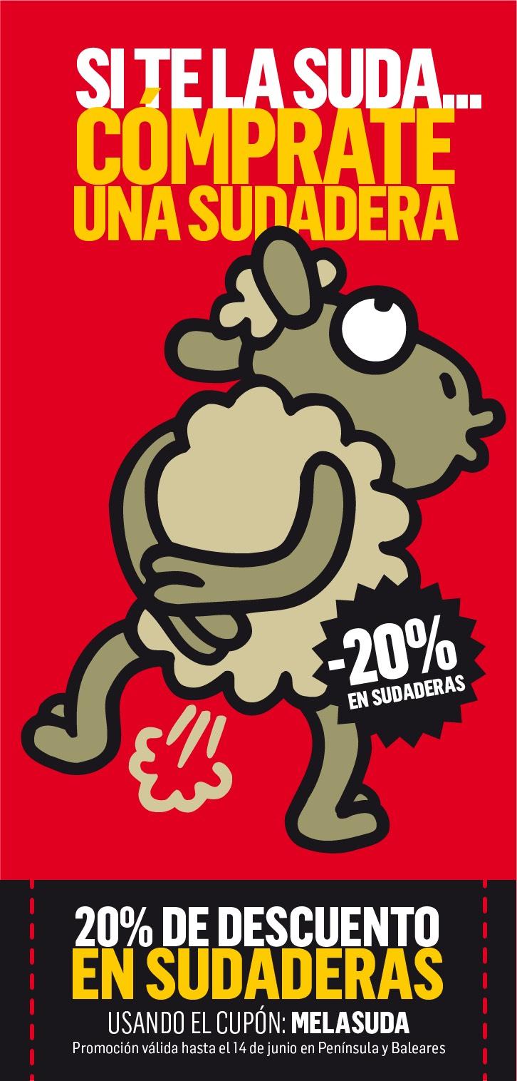Kukuxumusu - 20% descuento en sudaderas
