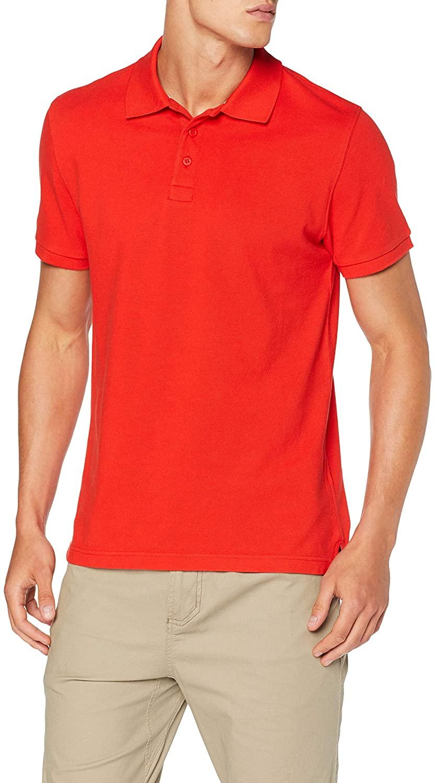 Helly Hansen Crew - Camisa Polo Unisex Adulto Rojo talla M