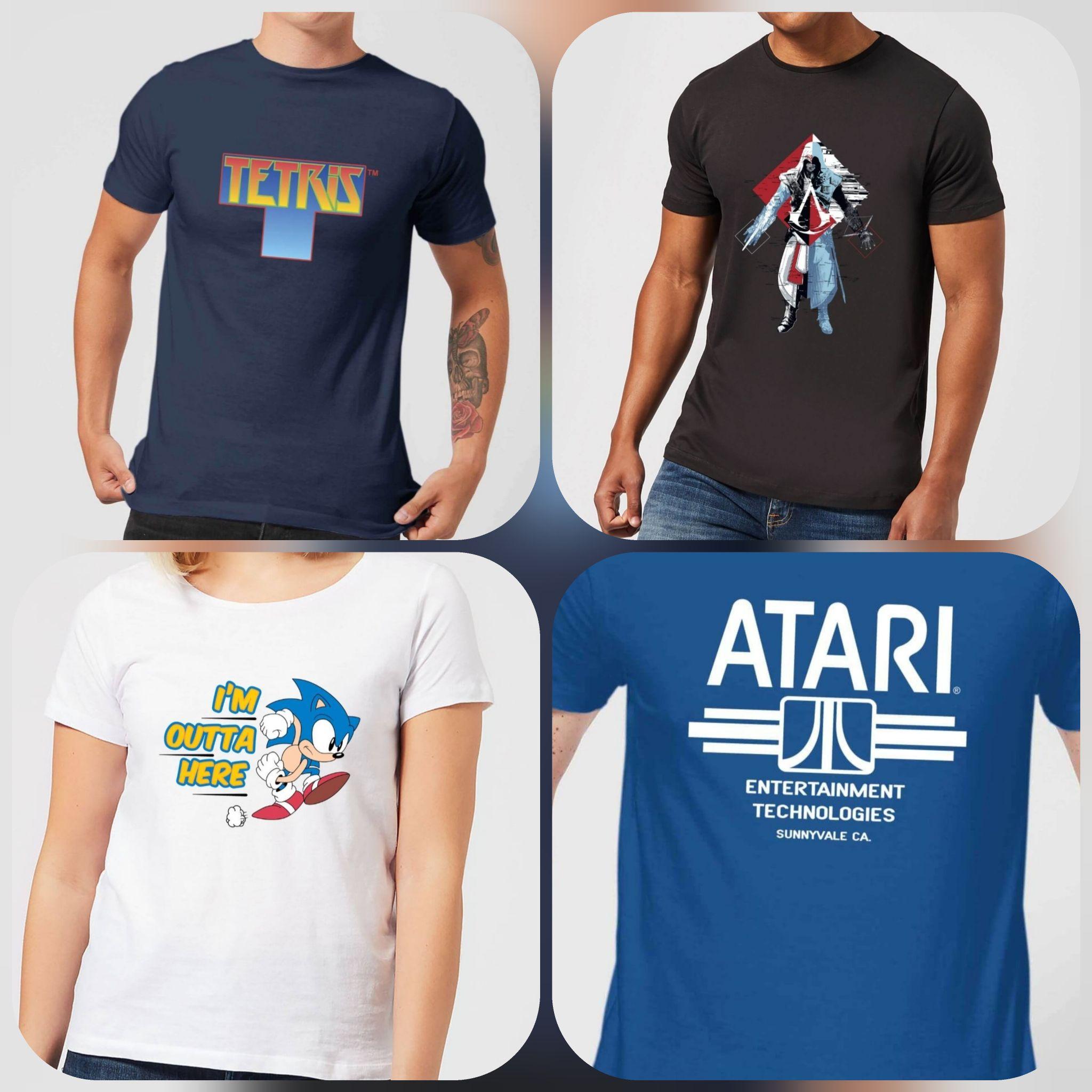 Camisetas GAMING Retro